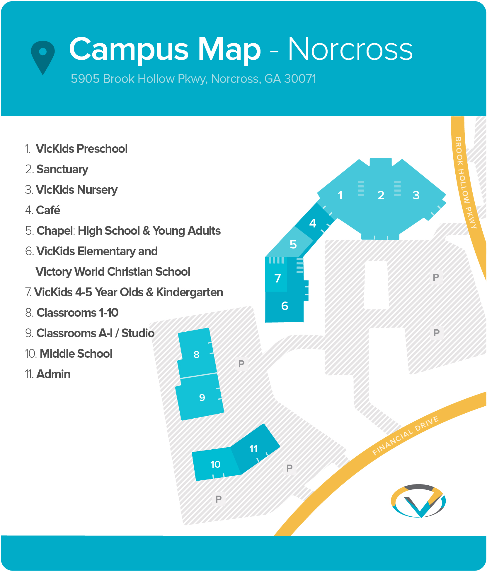 Campus Map - Norcross